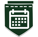 darkdgreencalendar