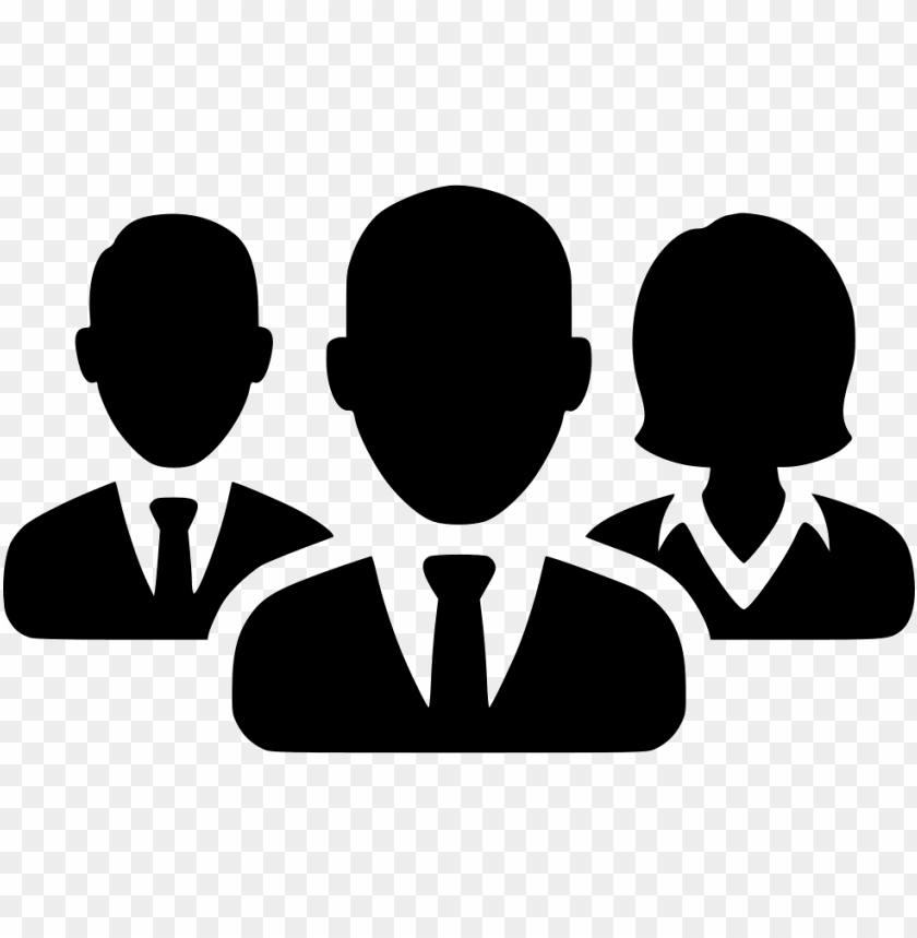 3 business people icon
